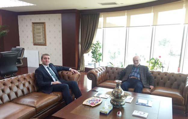 İl Başkanı Temurci'den Başkan Çelikbilek'e özel ziyaret