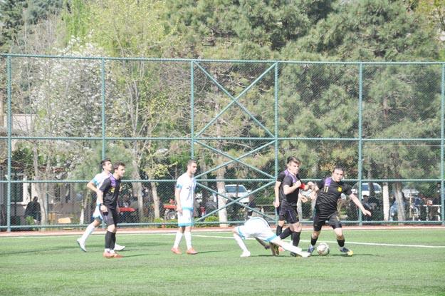 Sekiz gollü maç Çubuklu'nun