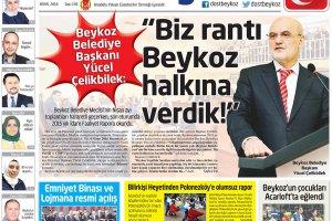 Dost Beykoz Gazetesi Nisan 2016... 156. Sayı