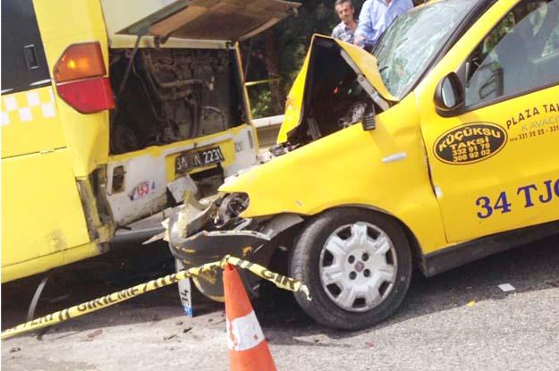 Beykoz Göksu yolunda trafik kazası... 1 kişi öldü
