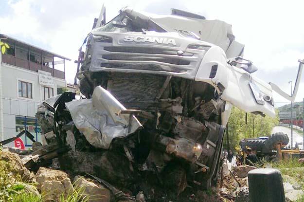 Beykoz Elmalı Kavşağı'na korkunç kaza
