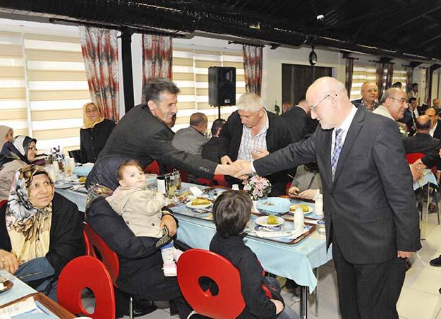 Beykoz Belediyesi'nde vefa buluşması