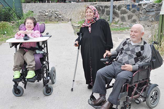 Beykoz'daki engellilerin derdi büyük