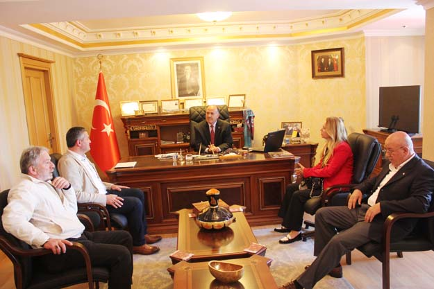 Beykoz Kızılay'ından Kaymakam Katırcı'ya ziyaret