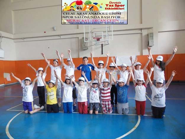 Beykozlu çocuklar haydi spora