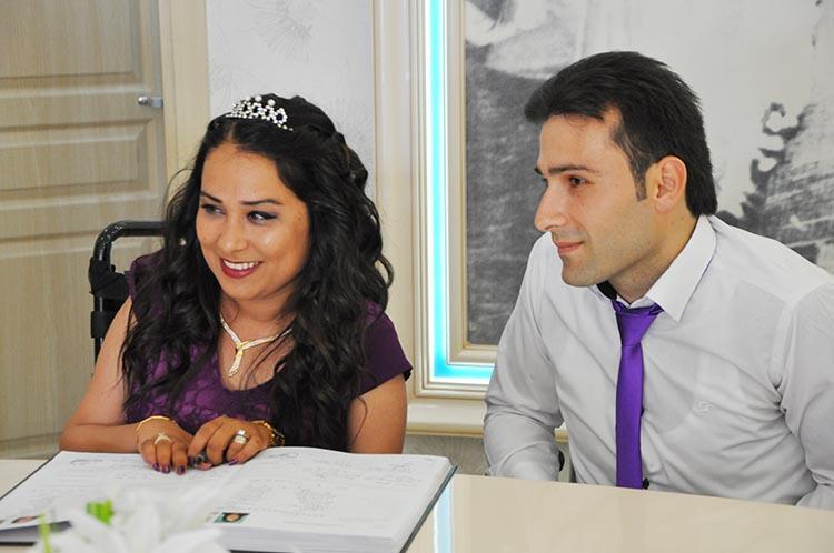 Beykoz'da nikah masası engel tanımıyor