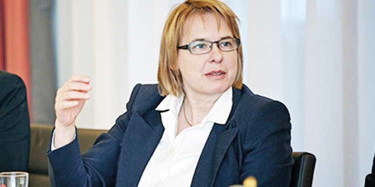 Alman milletvekili Bettina Kudla artık Beykozlu...