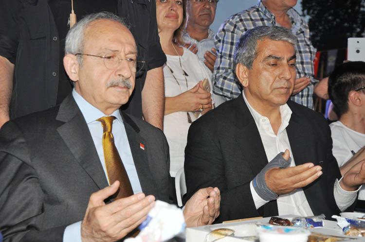 Tarihi Beykoz Çayırı'nda CHP izdihamı
