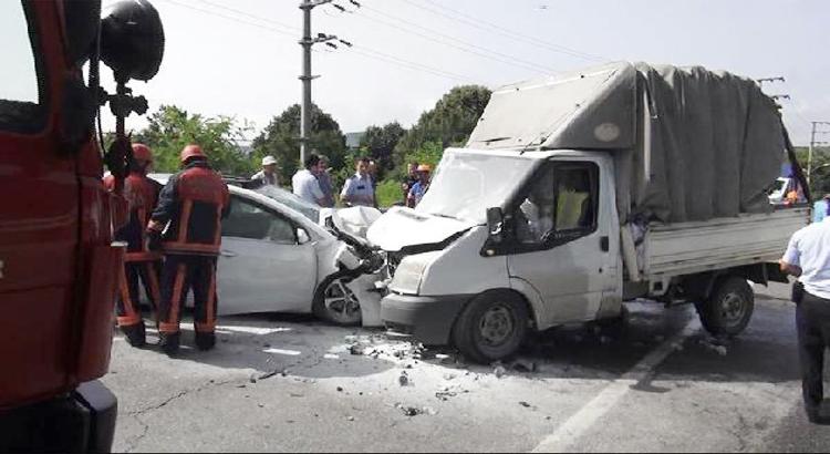 Beykoz Riva yolunda trafik kazası… 4 yaralı