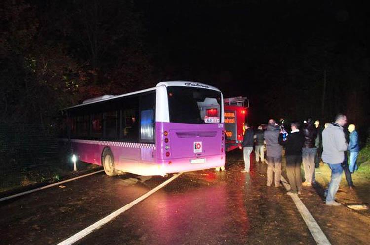 Beykoz'da sarhoş şoför paniği