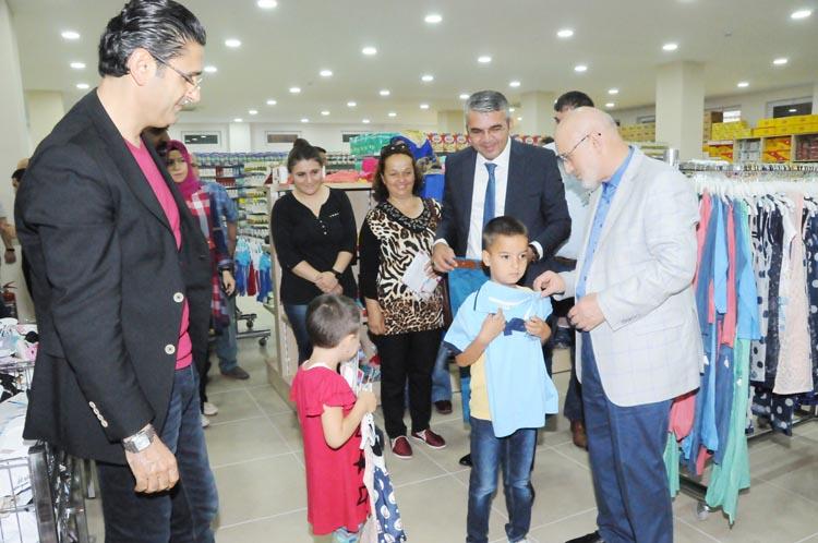 Beykoz'un çocuklarında bayram erken başladı