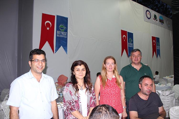 Beykoz Kızılay'ı 400 kişiye iftar verdi