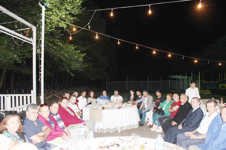 Dünya Yakın Savunma Federasyonu Beykoz'da oruç açtı
