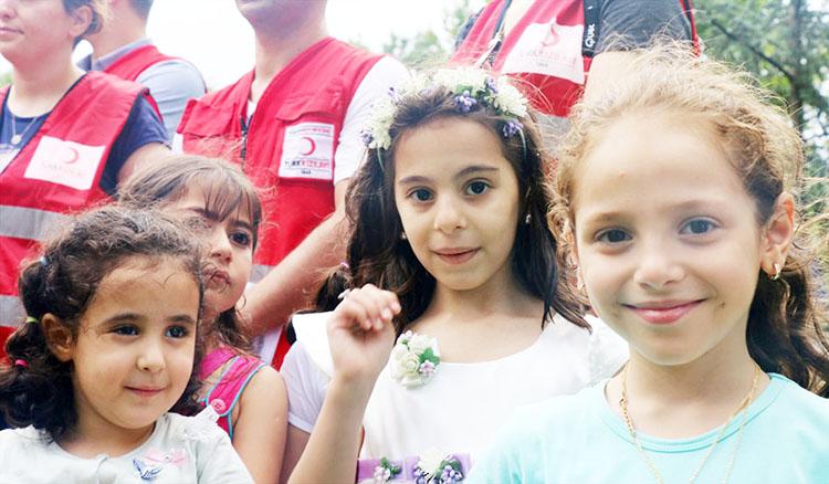 Suriyeliler Şam Bayramı'nı Beykoz Korusu'nda kutladı