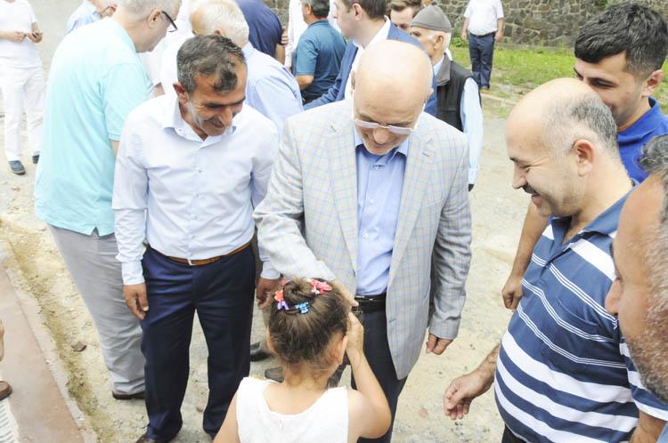 Beykoz'da geleneksel bayramlaşmalar!..