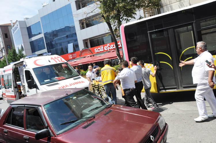 Beykoz Kavacık'ta engelli Büşra'ya çarptılar
