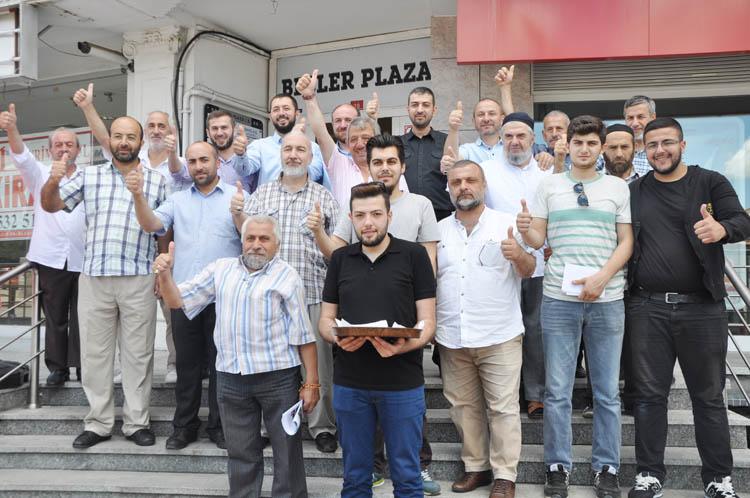 Saadet Partisi Beykoz Teşkilatı'nda bayram var