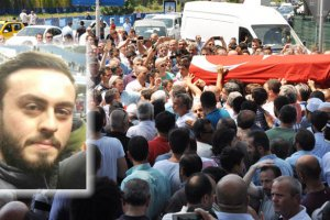Şehit Murat Akdemir'i binlerce Beykozlu uğurladı