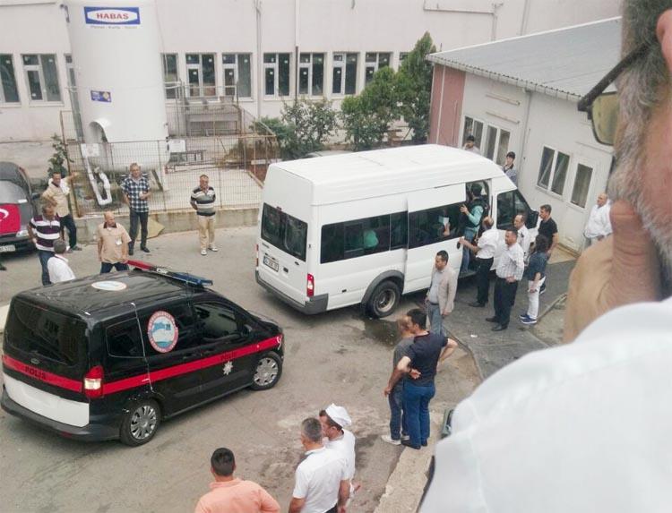 Beykoz'da linç girişimine karşı araç içinde muayene