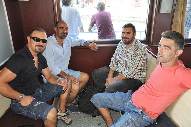 Beykoz'un coşkusunu Taksim'e taşıdılar