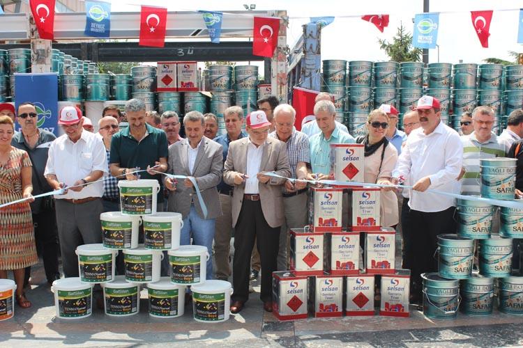 Beykoz'da 45 okula 45 ton destek