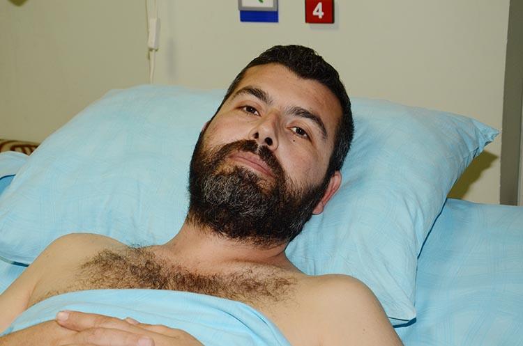 Beykoz gazisi Mustafa Uygun'un vurulma anı