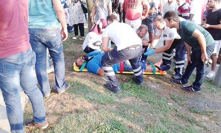 Beykoz Merkez'de trafik kazası… Biri ağır üç yaralı