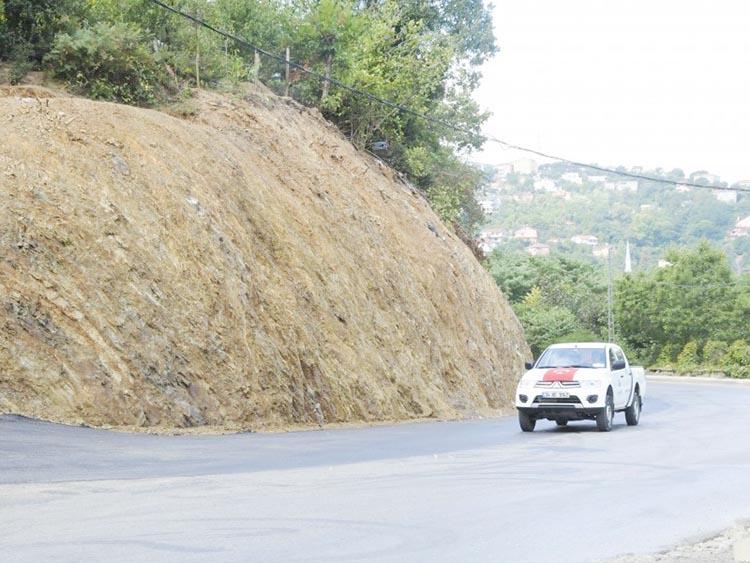 Beykoz'un yollarına 25 bin ton asfalt