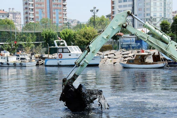 İSKİ, Beykoz'dan 843 bin 954 m³ teressübat  temizledi