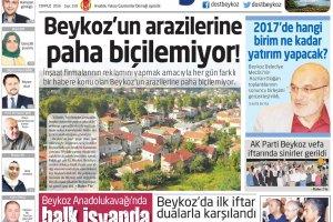 Dost Beykoz Gazetesi Temmuz 2016... 159. Sayı