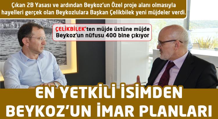 En yetkili isimden Beykoz'un imar planları