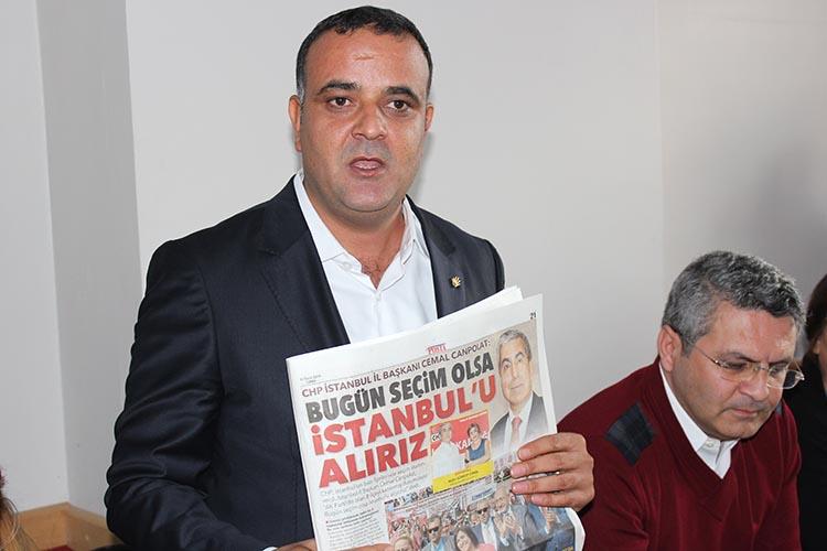 CHP Beykoz Yenimahalle'de seçim çalışmasına başladı