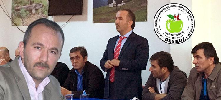Tahir Soylu Beykoz Gümüşhanelilere Başkan oldu