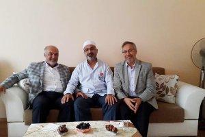 Beykoz Belediyesi'nden hacılara ziyaret