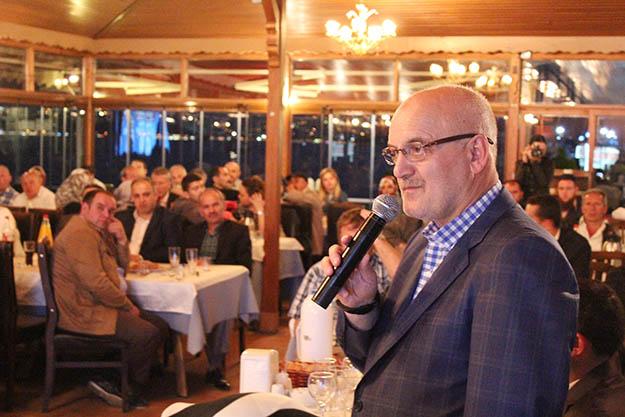 Beykoz Belediye Başkanı Sarıkamış'ı ziyaret etti