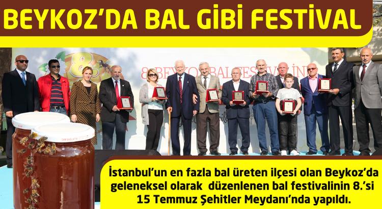 Beykoz'da bal üreticileri yarıştı