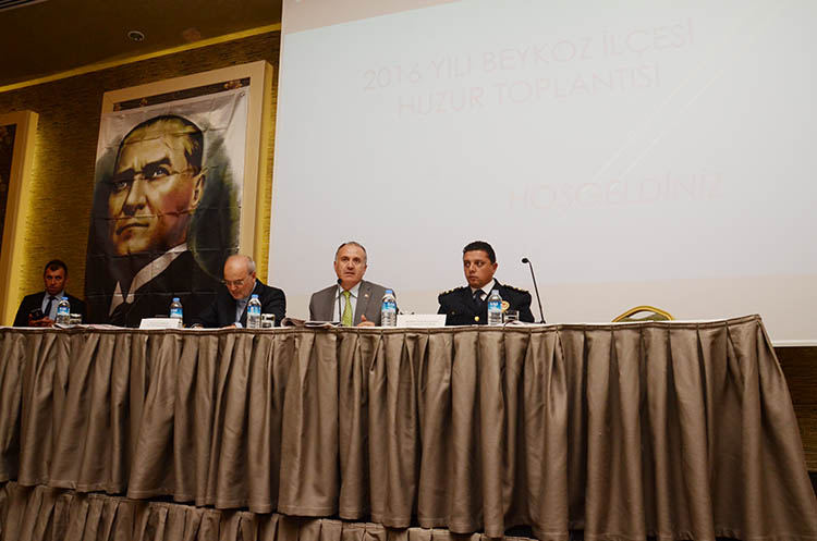 Beykoz'da huzur toplantıları devam ediyor
