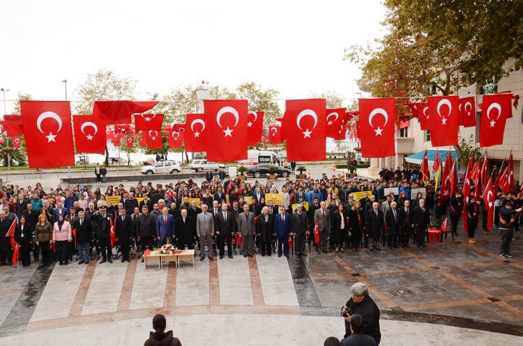 Beykoz'da 29 Ekim coşkusu sürüyor