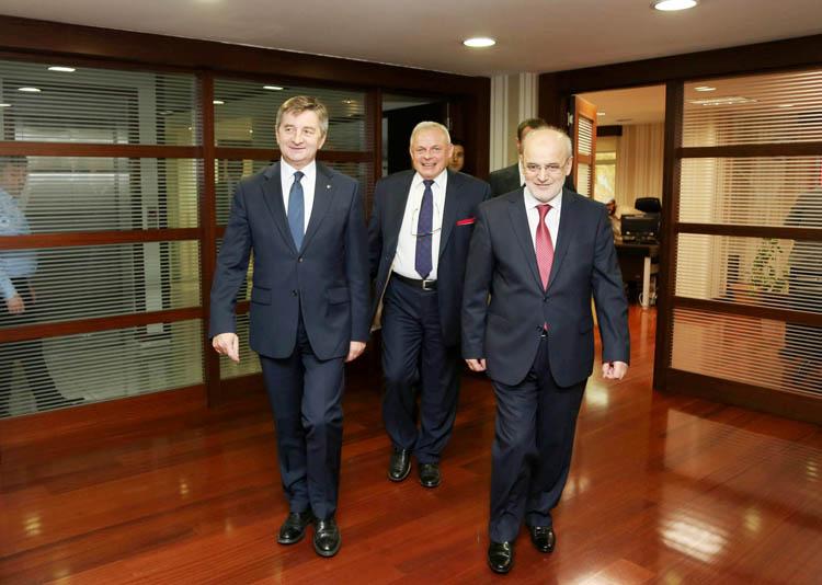 Polonyalı Meclis Başkanı Beykoz'a geldi