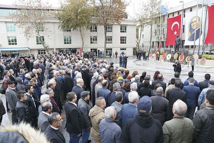Atatürk 78. Ölüm yıldönümünde anıldı