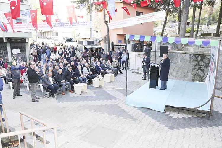 Beykoz Belediyesi'nden Paşabahçe'ye yeni yollar