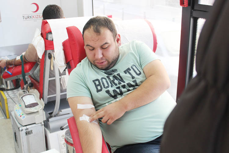 Karadenizliler, Beykoz'da kan topluyor