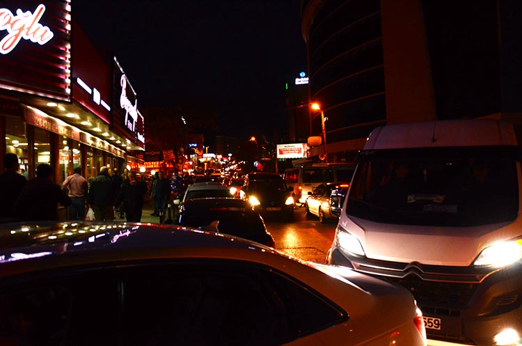 Beykoz Kavacık trafiğinde Bayramoğlu eziyeti