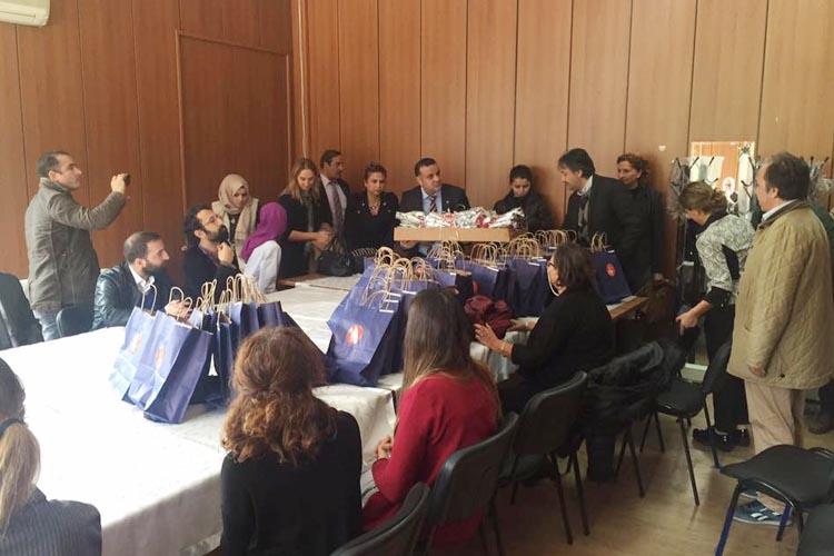 CHP Beykoz eğitimcileri ihmal etmedi…