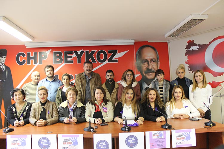 CHP Beykoz Kadın Kolları'ndan 25 Kasım Açıklaması