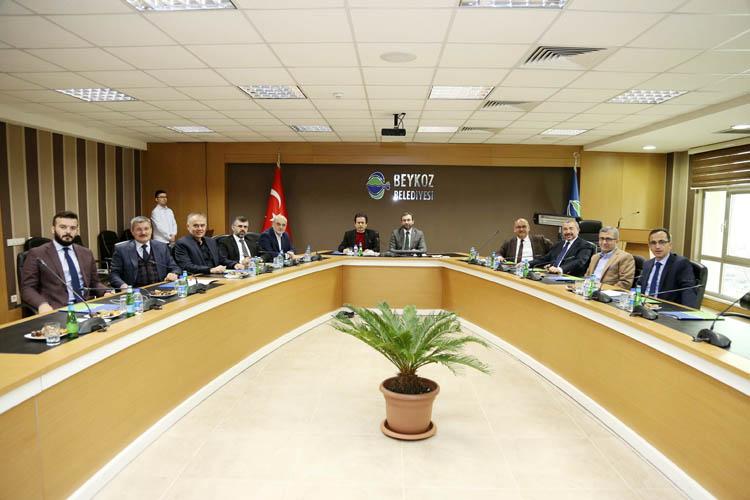 Belediye Başkanları Beykoz'da bir araya geldi