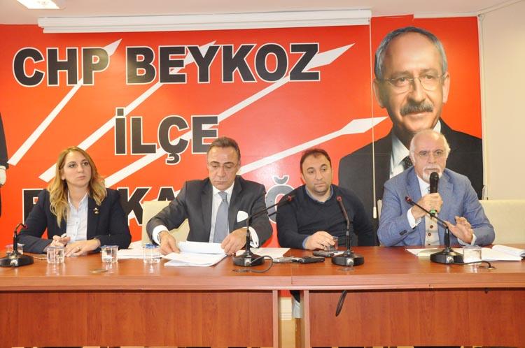 CHP Beykoz'da HAYIR için sahaya çıkıyor