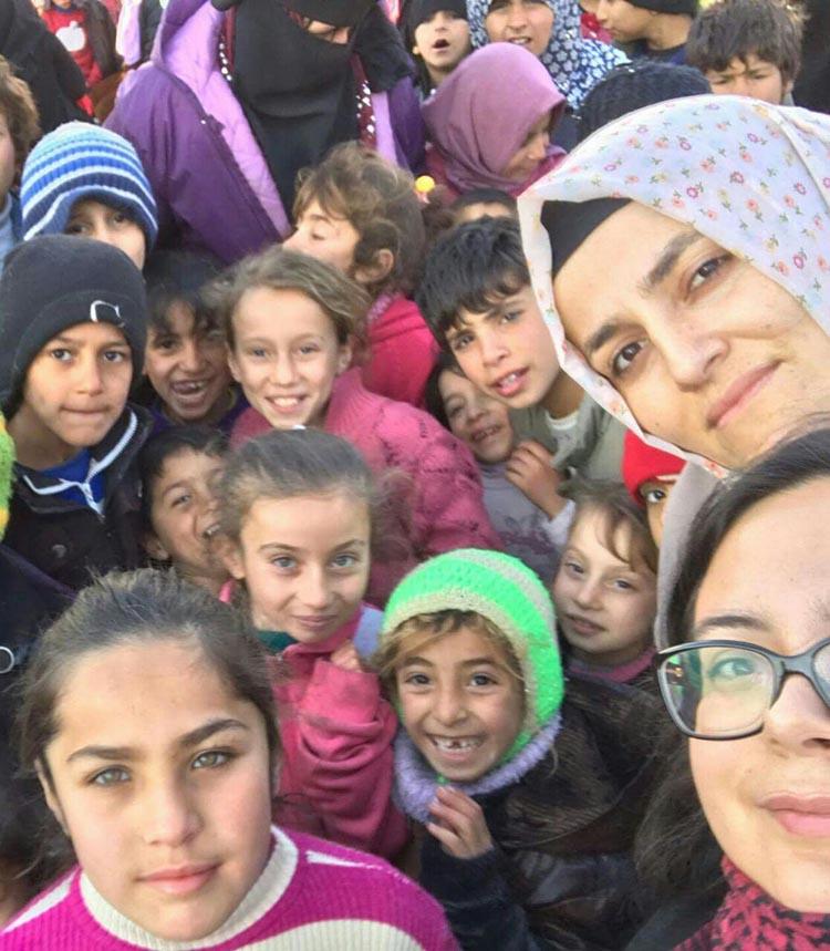 Dost Beykoz Suriye sınırını geçti...