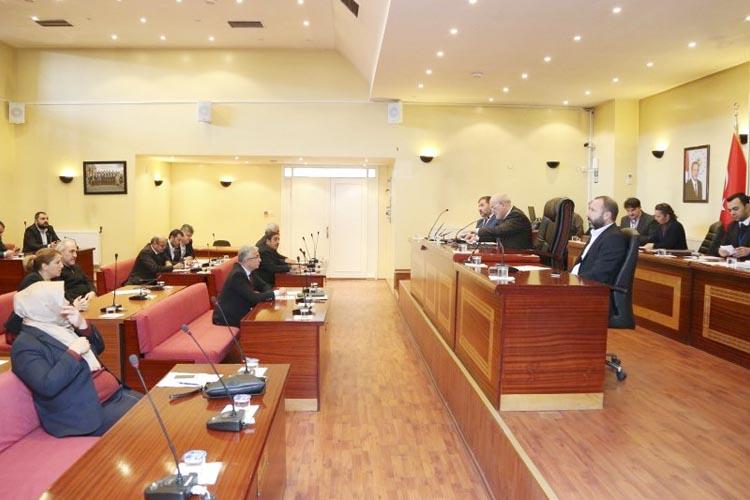 Beykoz Belediye Meclisi'nde 2017'nin  ilk oturumu