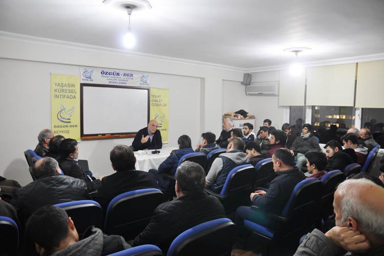 Özgür-Der Beykoz seminerleri devam ediyor